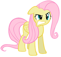 Pissed Off Fluttershy by Left2Fail