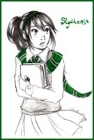 .: Slytherin :. by SkyeCrys