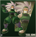 Bro Month 17 - Teisel Bonne by Ian-the-Hedgehog