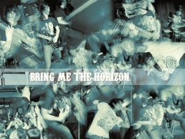 BRING ME THE HORIZON WALLPAPER by stefaniemacabre