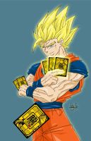 DBZ card game commission by DamageArts