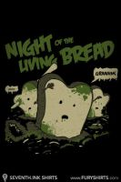 Night of the Living Bread Wall by seventhfury