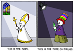 This is the Pope... by thgrup