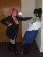 Pregnant sasusaku at Ahn!Con 2014 by CosplayCrazyProducti