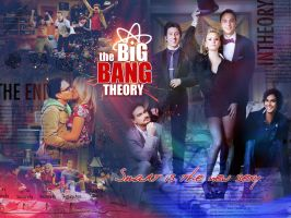 The Big Bang Theory by pamcoutinho