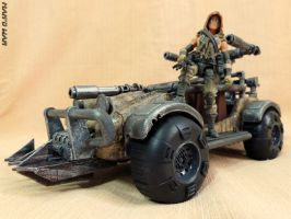 Custom El Scorpio - Mad Max / Rage vehicle by BlckThorne