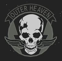 Outer Heaven Logo by ratylird