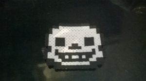 Sans Undertale perler by Cosplaying-Squirtle