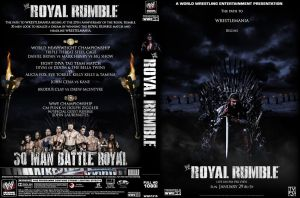 Royal Rumble 2012 DVD cover by Photopops