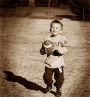 A Boy and His Football by ncRabbit