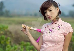 In cheongsam 9 by Agnes108