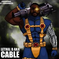 Lethal B Aka Cable #HoodHeroes by Urbanimated