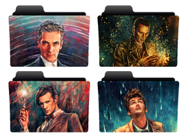 4 Doctors folder icons by NonStopSarah