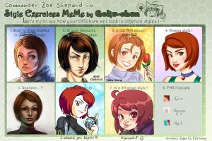 Style MEME-Commander Shepard by CamiFortuna