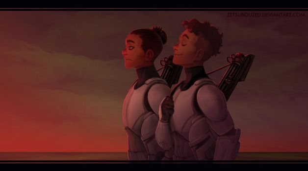 red sky at morning by ZetsubouZed