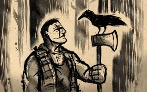 The Crow: Lumberjack by sman118