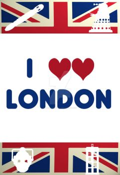 I Love London Whovian Edition by dragaodepapel