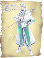 OBC: Cero The God of Time by Saiko-Akarui