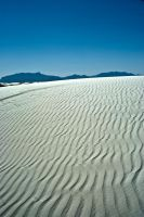 Sand Ripples and Azure Sky by CorazondeDios