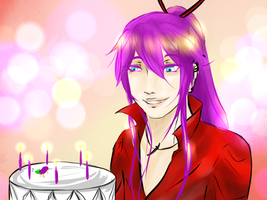 Happy 6th Birthday Gakupo! by Lunardew