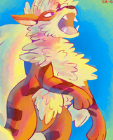 arcanine by blubified