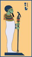 Egyptian God Ptah by Tutankhamun