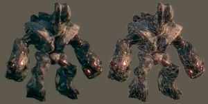 Golem model by Bawarner