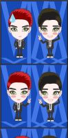 FANART VIXX LEO AND KEN by aitnix