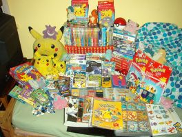 My Pokemon collection! by maskeraderosen