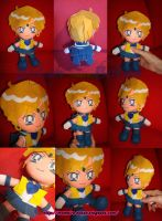chibi Sailor Uranus plush ver. by Momoiro-Botan