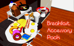MMD-Breakfast Accessory Pack by TwilightMarth