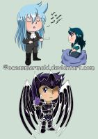 Mini Chibis requests by Oceanmermaid
