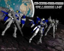 Tallgeese Unit by ssejllenrad2