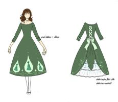 Dress for FPF without coat by catiniata