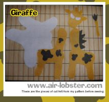 Giraffe Before Sewing, 1 by airlobster