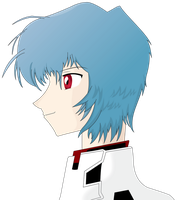Rei Ayanami Side vector by romansiii