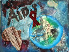 AIDS Social Issue by iculfn