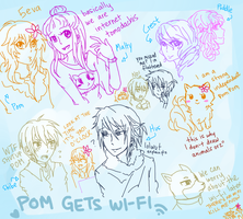 Pom Gets Wi-Fi by digidestined4eva