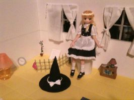 Azone Doll House (WIP) by Pikangie