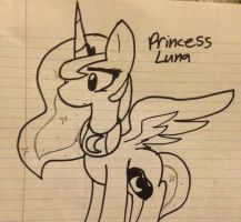 The Princess of The Night by SkyTehPony