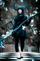 Dead Master_Black Rock Shooter by AMPLE-COSPLAY