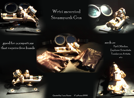 Steampunk Gun by For-Why
