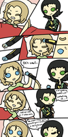 Prize: Thor Gets a Cold by Koru-ru