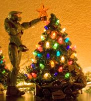Halo Christmas by therealphotochick