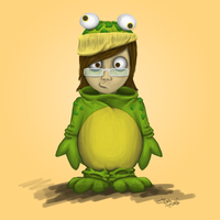 It's-a-mee, Fraffrog by Fraffrog