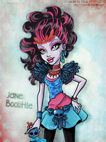 Monster High Jane Boolittle by Flooks by Flooks