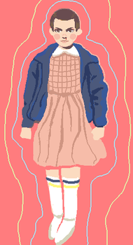 Eleven Pixel by blythewhimsy