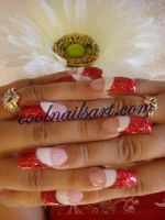 Christmas Nail Design by thientu83