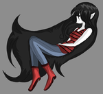Adventure Time Marceline by Ribbonthecat