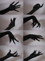 Demon Hands 2 by Tasastock
